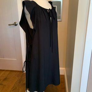 Chloe crepe dress